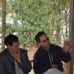 JB Polu raising a point during the meet